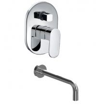 0106/B9.0 (Juego monocomando para bañera y ducha) - B9 Fresia